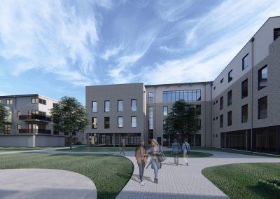 Campus LWL Hofansicht 02