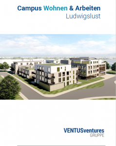 Folder Campus Wohnen & Arbeiten Ludwigslust